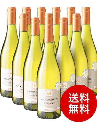 【送料無料】モンタネット・シャルドネ[2016]12本セット(白ワイン)(同梱不可・送料無料)(代引き手数料・クール便は別途費用が掛かります)[J]