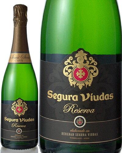 セグラ・ヴューダス・セミセコ・レゼルバ750ml(泡・白)