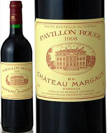 パヴィヨン ルージュ デュ シャトー マルゴー [ 1998 ] ( 赤ワイン ) [J] [S]
