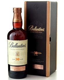 木箱入り 並行 バランタイン 30年 700ml (ブレンデッド スコッチ ウイスキー) (ワイン(=750ml)8本と同梱可)