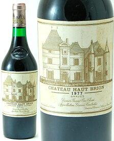シャトー オー ブリオン [ 1977 ] ( 赤ワイン )※ラベル瓶&キャップに汚れ・破れ・傷有り※ [S]