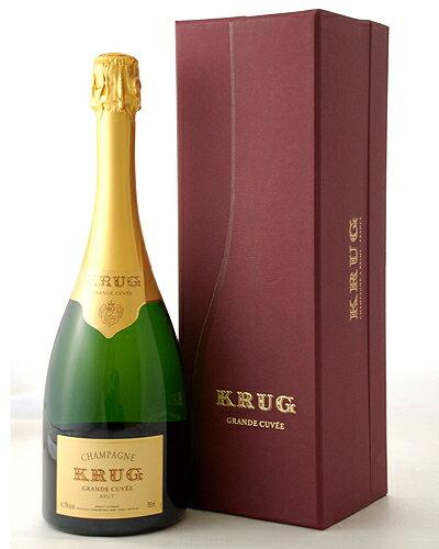 【オリジナル箱入り】【並行品】クリュッグ グランド キュヴェ NV (泡・白)(ワイン(=750ml)8本と同梱可)[J][tp]