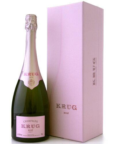 【オリジナルギフト箱入り】【正規品】クリュッグ・ロゼ(泡・ロゼ)(ワイン(=750ml)8本と同梱可)[Y][tp]