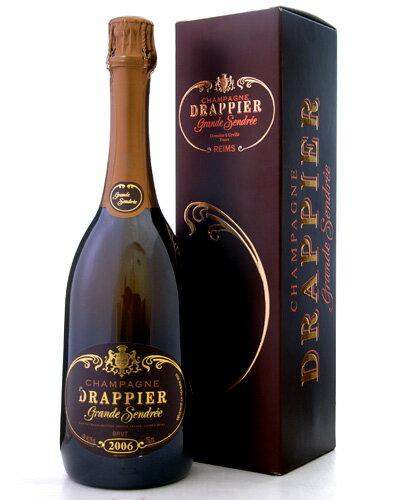 【オリジナル箱入り】ドラピエ・グラン・サンドレ[2006](泡・白)(ワイン(=750ml)11本と同梱可)[Y][tp]