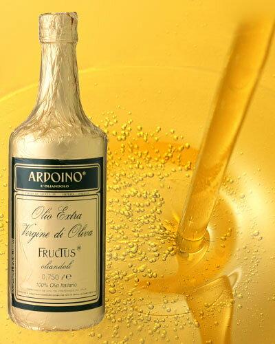 アルドイノ エクストラヴァージン オリーブオイル フルクタス750ml(ワイン(=750ml)11本と同梱可) 【賞味期限:2019年12月18日】