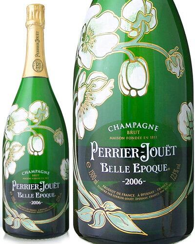 【マグナムボトル】ベル・エポック[2006]ペリエ・ジュエ 1500ml(ワイン(=750ml)6本と同梱可)(泡・白)[tp][D][S]