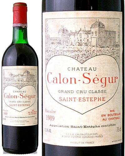 シャトー・カロン・セギュール[1989](赤ワイン)※ラベル瓶&キャップに汚れ・破れ・傷有り※[Y][J][D][S][tp]