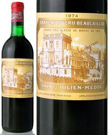 シャトー デュクリュ ボーカイユ [ 1974 ] ( 赤ワイン ) ※ラベル瓶&キャップに汚れ・破れ・傷有り※[S]
