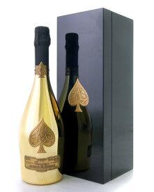 並行 箱入り アルマン ド ブリニャック ゴールドNV  ( 泡 白 ) シャンパン シャンパーニュ (ワイン(=750ml)4本と同梱可) [tp] [J]