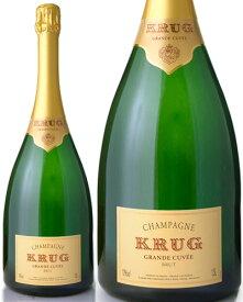 マグナムボトル 正規 クリュッグ グランド キュヴェNV1500ml ( 泡 白 ) シャンパン シャンパーニュ (ワイン(=750ml)4 本と同梱可) [J]