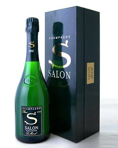 【オリジナル箱入り】サロン[2006](泡・白)[Y][tp](ワイン(=750ml)8本と同梱可)