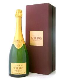 並行 箱入り クリュッグ グラン キュヴェ NV (泡 白) (ワイン(=750ml)8本と同梱可) [J][tp]