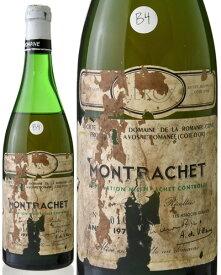 並行 モンラッシェ グラン クリュ [1973] ドメーヌ ド ラ ロマネ コンティ ( 白ワイン ) B4 [tp] [S]