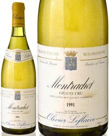 モンラッシェ グラン クリュ [1991] オリヴィエ ルフレーヴ ( 白ワイン ) [S] [tp]