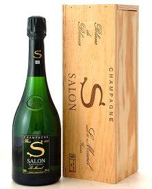 正規 木箱入り サロン [1999] ( 泡 白 ) (ワイン(=750ml)8本まで同梱可能) [S]