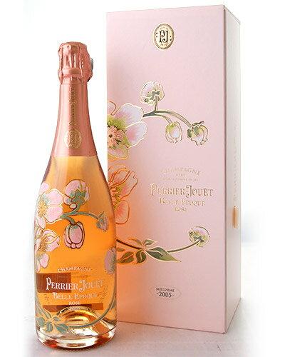 並行 箱入り ベル エポック ロゼ[2005]ペリエ ジュエ(泡 ロゼ) (ワイン(=750ml)8本と同梱可) [tp]