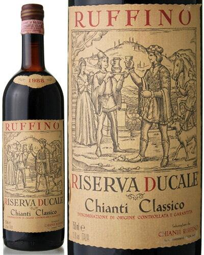 キャンティ クラシコ リゼルヴァ デュカーレ[1988] ルフィーノ(赤ワイン) ※ラベル瓶&キャップに汚れ 破れ 傷有り※[S]