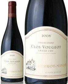 クロ ド ヴージョ グラン クリュ ヴィエイユ ヴィーニュ V.V. [ 2008 ]ペロ ミノ ( 赤ワイン ) [J][S]