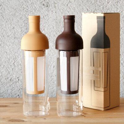 HARIO(ハリオ)フィルターインコーヒーボトル(水出し珈琲ポット)FIC-70-MC / FIC-70-CBR(ワイン(=750ml)11本まで同梱可)