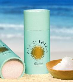 サル デ イビザ 100%ソルト 125g(紙筒入り) スペイン 天然塩 (1〜2個迄、ワイン(=750ml)11本と同梱可)