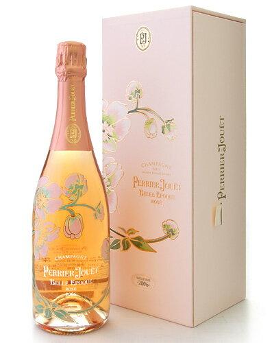 正規 箱入り ベル エポック ロゼ[2006]ペリエ ジュエ(泡 ロゼ) (ワイン(=750ml)8本と同梱可) [tp]