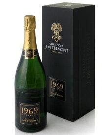 箱入り ブリュット エリタージュ [1969] J ド テルモン ( 泡 白 ) シャンパン シャンパーニュ (ワイン(=750ml)8本と同梱可) [tp] [S]