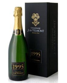 箱入り ブリュット ミレジメ エリタージュ [1995] J.ド テルモン(ワイン(=750ml)8本と同梱可) ( 泡 白 ) シャンパン シャンパーニュ [tp] [S]
