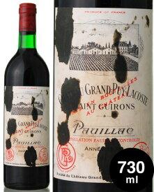 シャトー グラン ピュイ ラコスト [1976] 730ml ( 赤ワイン ) ※ラベル瓶&キャップに汚れ・破れ・傷有り※ [tp] [S]