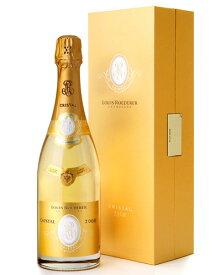 正規 箱入り クリスタル [2012] ルイ ロデレール ( 泡 白 ) シャンパン シャンパーニュ(ワイン(=750ml)8本と同梱可)