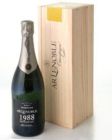 ブラン ド ブラン グラン クリュ シュイィ ミレジメ [1988] ルノーブル ( 泡 白 ) シャンパン シャンパーニュ (ワイン(=750ml)4本と同梱可) [tp] [S]