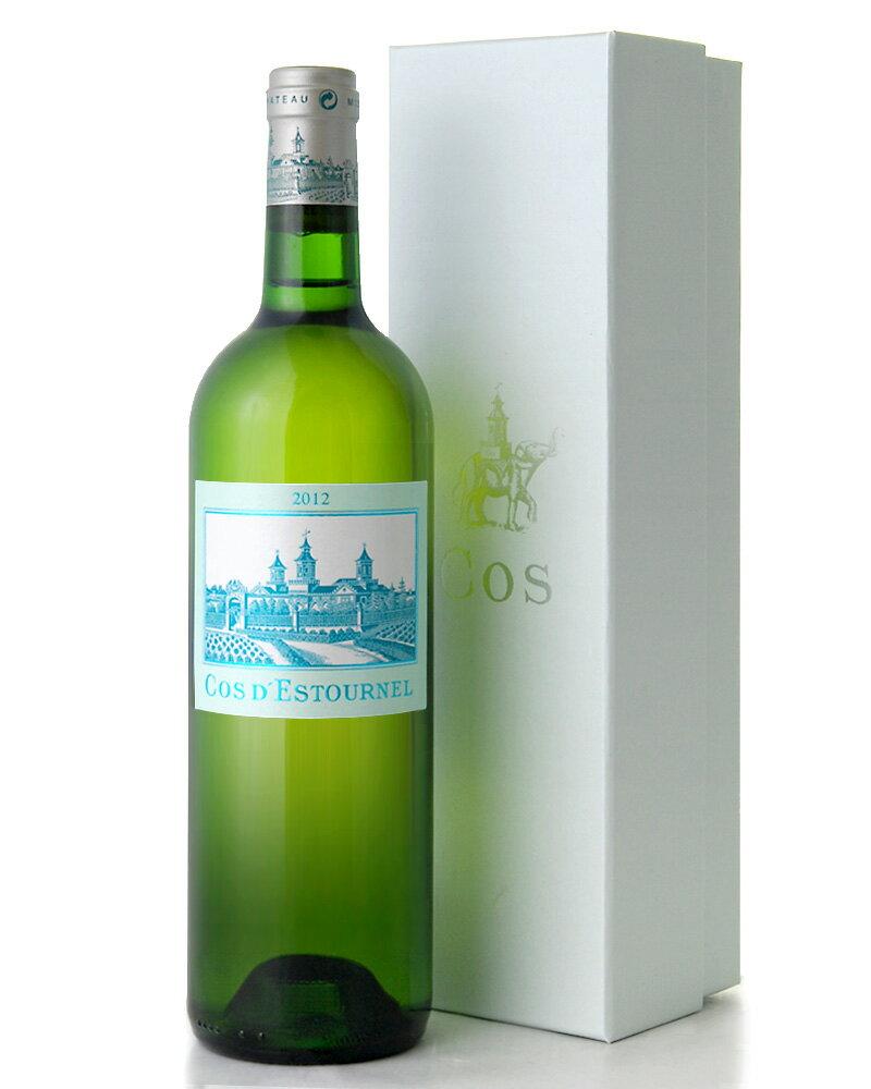 コス デストゥルネル ブラン [2012](白ワイン)(ワイン(=750ml)11本と同梱可)[S]