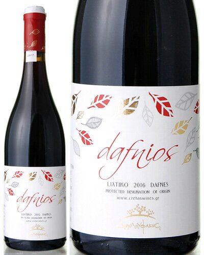 ダフニオス レッド[2016] ドゥルファキス ワイナリー(赤ワイン)