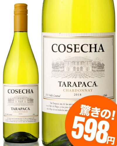 コセチャ タラパカ[2018]シャルドネ(白ワイン チリ)