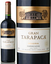 グラン タラパカ [2016] カルメネール ( 赤ワイン )