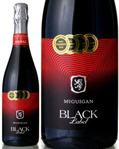 ブラック ラベル スパークリング シラーズNV マクギガン ワインズ ( 泡 赤 )