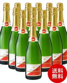 送料無料 12本 セット ダルマンヴィル ブリュットNV ( 泡 白 ) シャンパン シャンパーニュ (代引き手数料 クール便は別途費用が掛かります) [J]