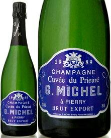 ブリュット キュベ デ プリウレ [1989] ギィ ミシェル ( 泡 白 ) シャンパン シャンパーニュ
