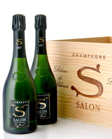 木箱入り 並行 サロン ブラン ド ブラン [2007] 6本 セット ( 泡 白 ) シャンパン シャンパーニュ ※同梱不可