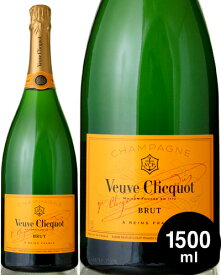 マグナムボトル 正規 ヴーヴ クリコ イエローラベル ブリュット1500ml ( 泡 白 ) シャンパン シャンパーニュ (ワイン(=750ml)4本と同梱可)