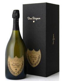正規 箱入り ドン ペリニヨン [2008] (ワイン(=750ml)8本と同梱可) ( 泡 白 ) シャンパン シャンパーニュ