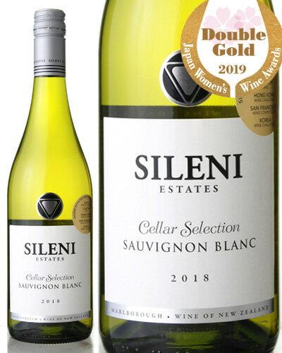 NIKKEIプラス1 何でもランキング第3位! ワイン王国55号5ツ星獲得! セラー セレクション ソーヴィニヨン ブラン[2018] シレーニ エステイト(白ワイン)