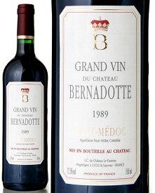 シャトー ベルナドット[1989](赤ワイン)
