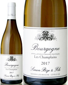 ブルゴーニュ ブラン レ シャンプラン [ 2017 ]シモン ビーズ ( 白ワイン )