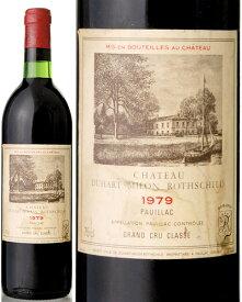 シャトー デュアール ミロン [ 1979 ] ( 赤ワイン )※ラベル瓶&キャップに汚れ・破れ・傷有り※ [S]