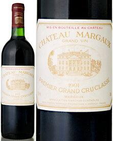 シャトー マルゴー [1991] ( 赤ワイン )※ラベル瓶&キャップに汚れ・破れ・傷有り※ [S]