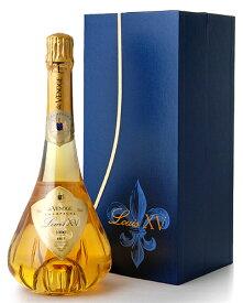 並行 箱入り ドゥ ヴノージュ ルイ 15世 [ 1996 ](ワイン(=750ml)8本と同梱可) ( 泡 白 ) シャンパン シャンパーニュ