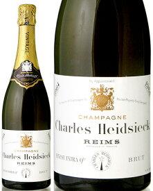ブリュット [ 1964 ]シャルル エドシック ( 泡 白 ) シャンパン シャンパーニュ ※瓶汚れあり [S]