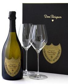 正規 箱入り ドン ペリニヨン [ 2008 ] グラスセット ( 泡 白 ) シャンパン シャンパーニュ(ワイン(=750ml)4本と同梱可)