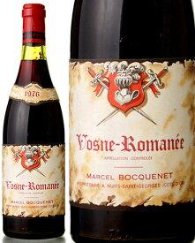 ヴォーヌ ロマネ [ 1976 ]マルセル ボクネ ( 赤ワイン ) ※ラベル瓶&キャップに汚れ・破れ・傷有り※[S]