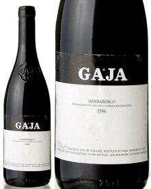 バルバレスコ [ 1986 ]ガヤ ( 赤ワイン ) ※ラベル瓶&キャップに汚れ・破れ・傷有り※[S]